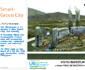 92 Ha. Smarter-Green City Mixed-Use Commercial, Residential Development Complex